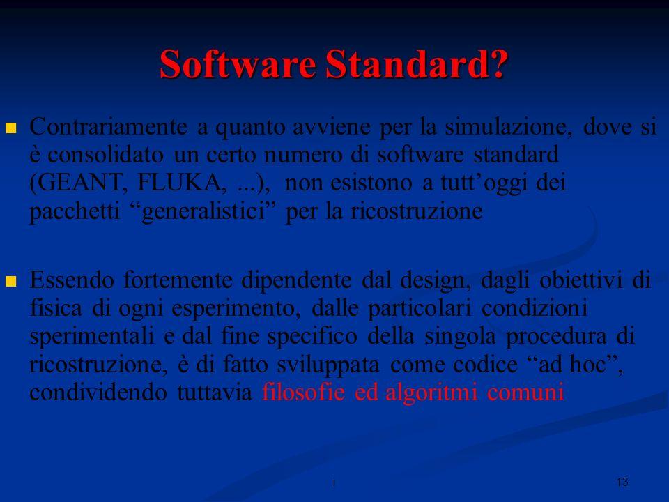 13i Software Standard.