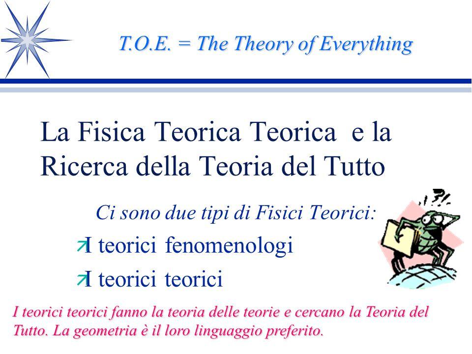 La Teoria del Tutto esiste? Una chiacccherata multimediale di Pietro Fré