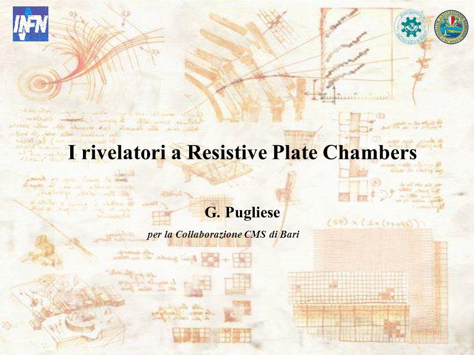 G. Pugliese Bari, 20 May 2005 I rivelatori a Resistive Plate Chambers G. Pugliese per la Collaborazione CMS di Bari