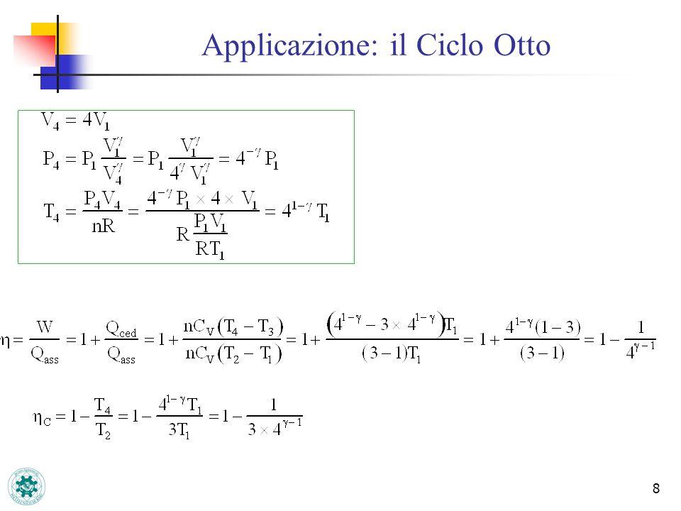19 LUniverso è un sistema isolato Ciclo irreversibileCiclo reversibile Lirreversibilità è sempre accompagnata da un aumento di entropia.!.