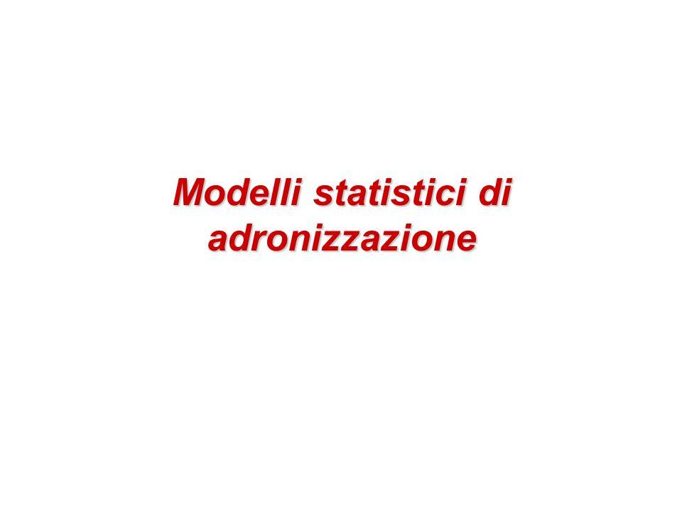 Modelli statistici di adronizzazione