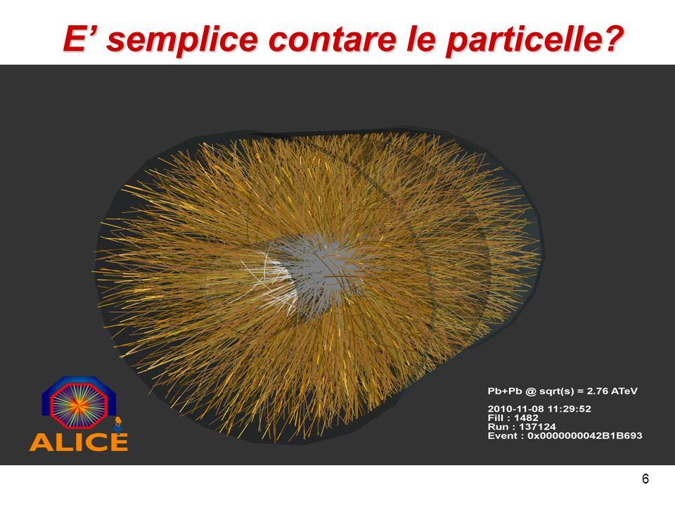 6 E semplice contare le particelle?