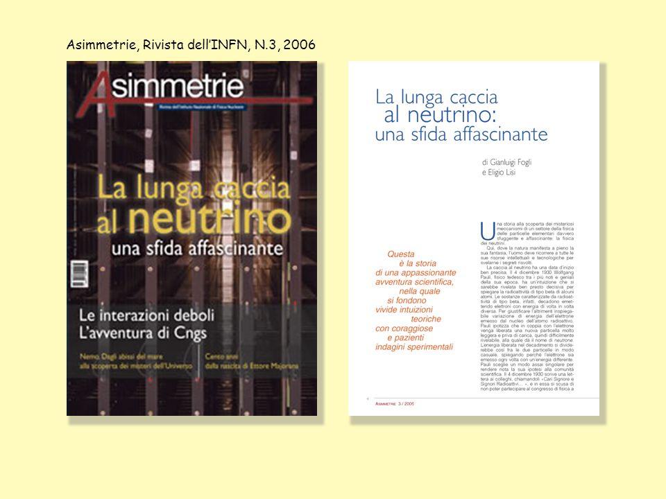 Asimmetrie, Rivista dellINFN, N.3, 2006