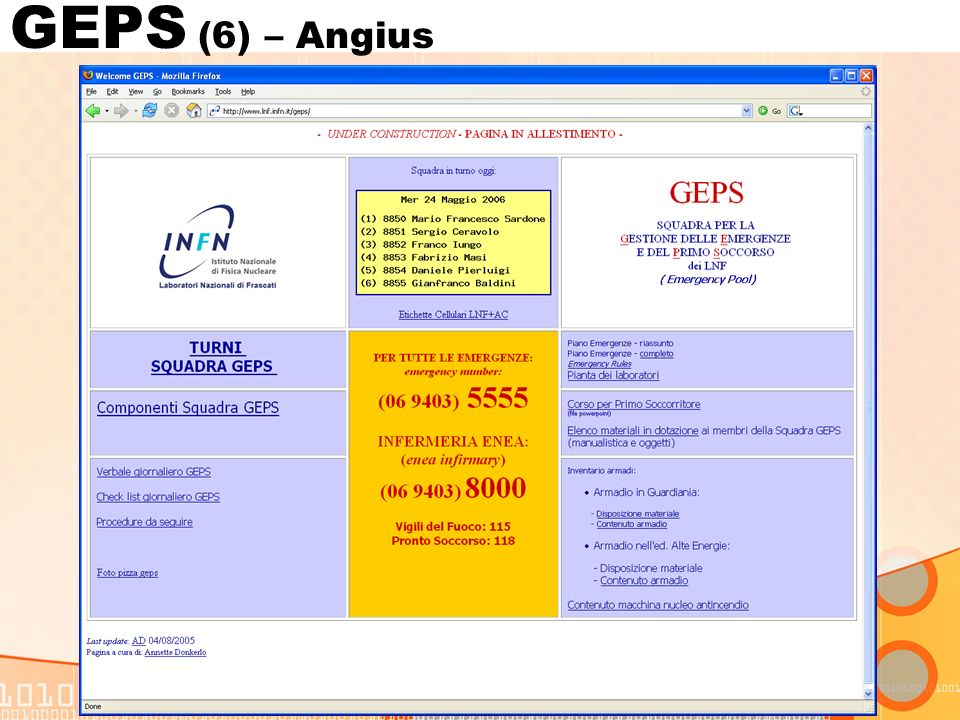 GEPS (6) – Angius