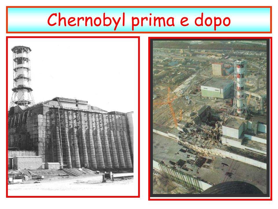 Chernobyl prima e dopo