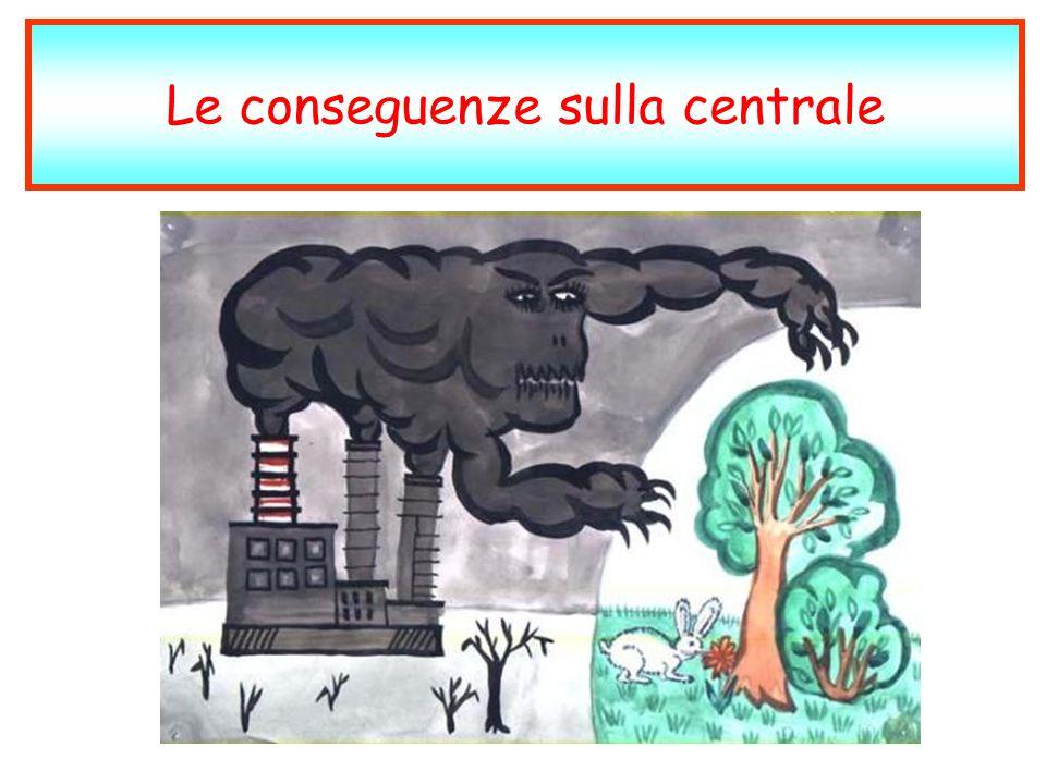 Le conseguenze sulla centrale