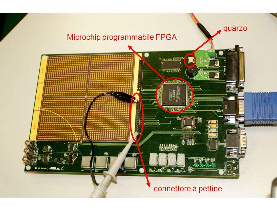 15 Microchip programmabile FPGA quarzo connettore a pettine