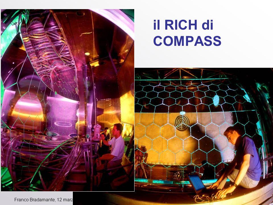Franco Bradamante, 12 marzo 2012 il RICH di COMPASS