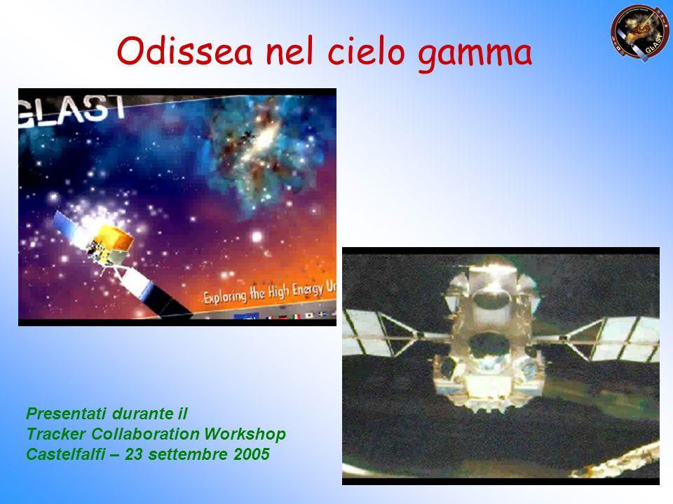 .. ed attraverso video per raccontare la scienza di GLAST ed il contributo italiano nella missione Ecco i primi esperimenti…. Odissea nel cielo gamma