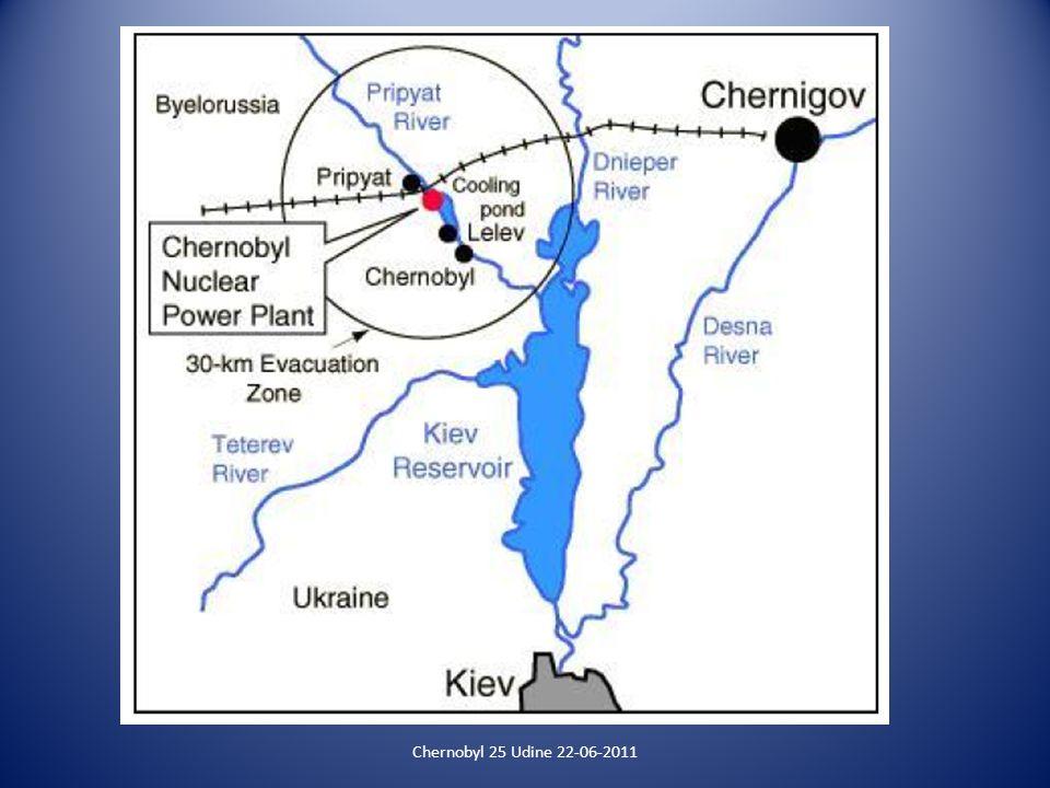 Chernobyl 25 Udine 22-06-2011 Triangolo Lariano Adattato da: www.progettohumus.it