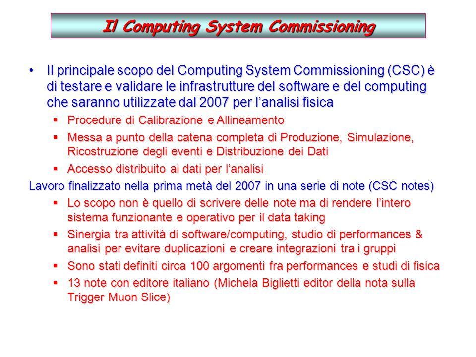Il sistema di condizionamento Abbiamo seguito le linee guida dellINFN per la realizzazione di sistemi di condizionamento e valutato le soluzioni proposte da varie ditte.