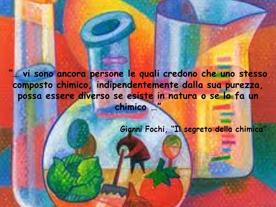 … vi sono ancora persone le quali credono che uno stesso composto chimico, indipendentemente dalla sua purezza, possa essere diverso se esiste in natu