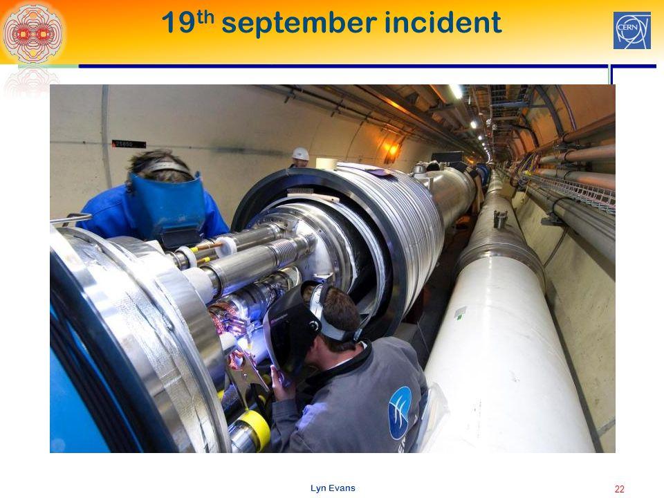 Lyn Evans 19 th september incident 22