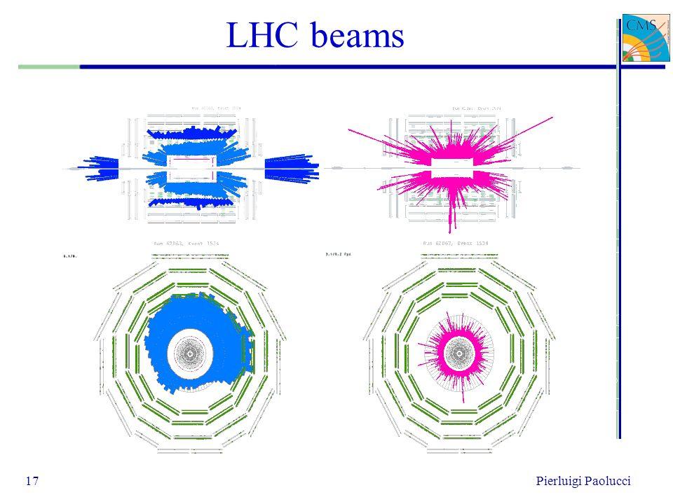 LHC beams 17Pierluigi Paolucci
