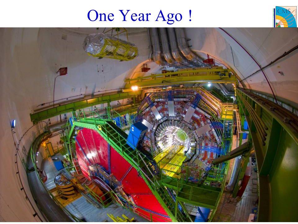 9 One Year Ago !