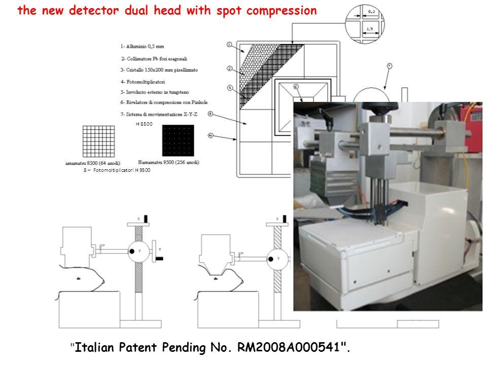 8 – Fotomoltiplicatori H 9500 H 8500 Italian Patent Pending No.