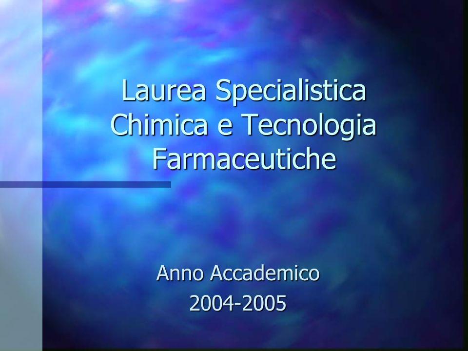 Università degli Studi di Firenze Facoltà di Farmacia
