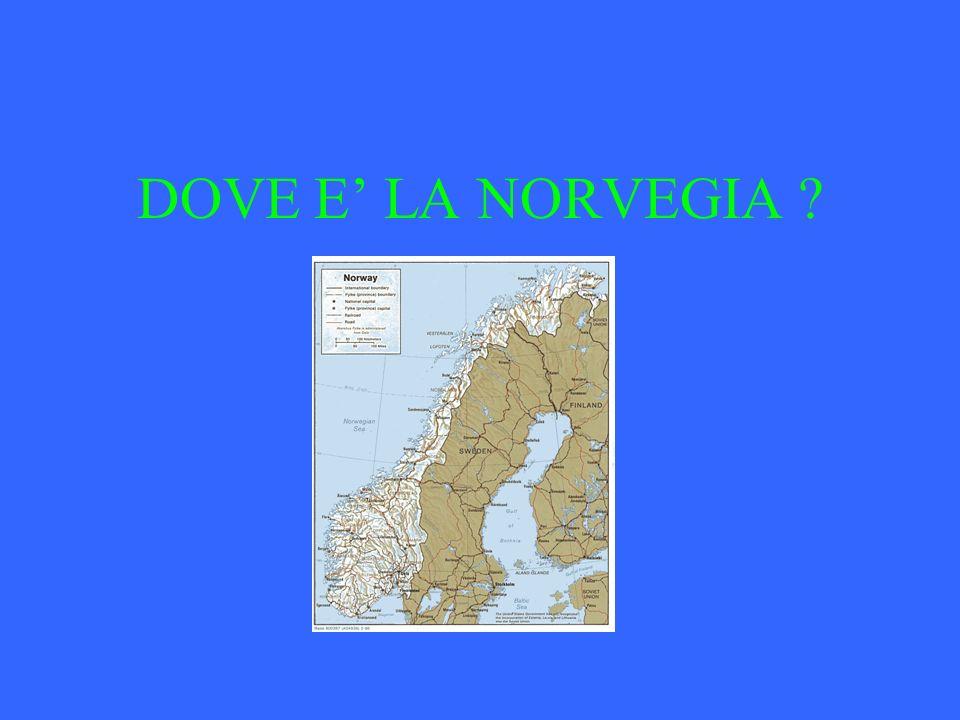 DOVE E LA NORVEGIA ?