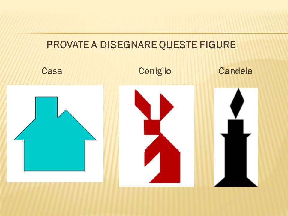 PROVATE A DISEGNARE QUESTE FIGURE Casa Coniglio Candela