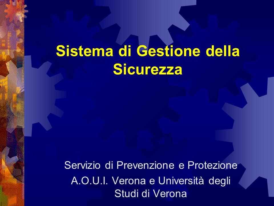 Sistema di Gestione della Sicurezza Servizio di Prevenzione e Protezione A.O.U.I.