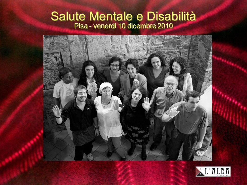 Salute Mentale e Disabilità Pisa - venerdi 10 dicembre 2010