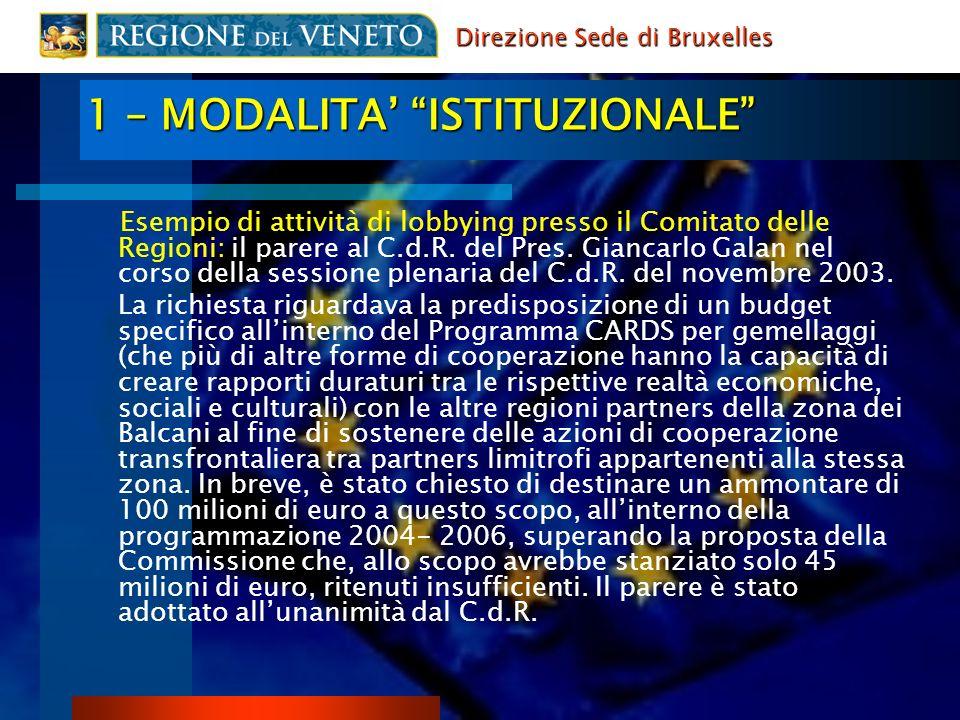 2 - GESTIONE NETWORK EUROPEI ASSOCIAZIONI E RETI: ex.