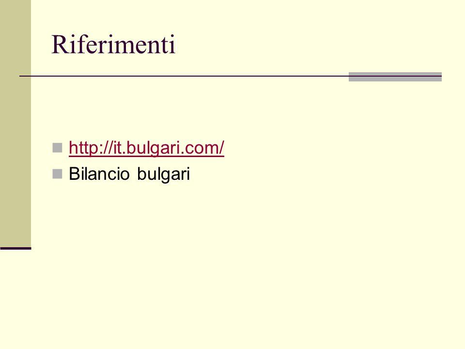 Le competenze di Bulgari come fondamento della strategia di successo La gestione della marca (notorietà) Ricerca e selezione dei fornitori delle mater