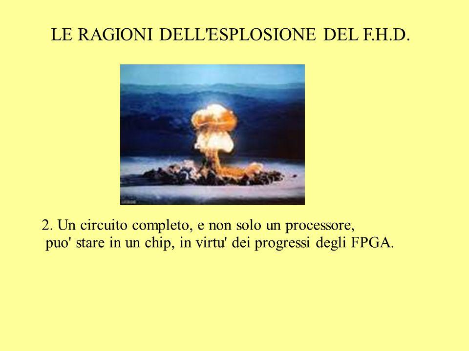 LE RAGIONI DELL ESPLOSIONE DEL F.H.D. 2.