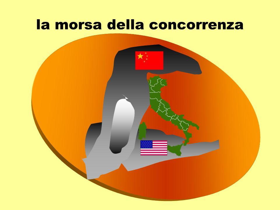 Competitiveness Growth Index (World Economic Forum 2004) 2004 2003 2002 Finlandia 3 1 1 USA 5 2 2 Svezia 6 3 3 Germania 1413 14 Regno Unito 1215 11 Francia 2024 28 Italia 4539 33