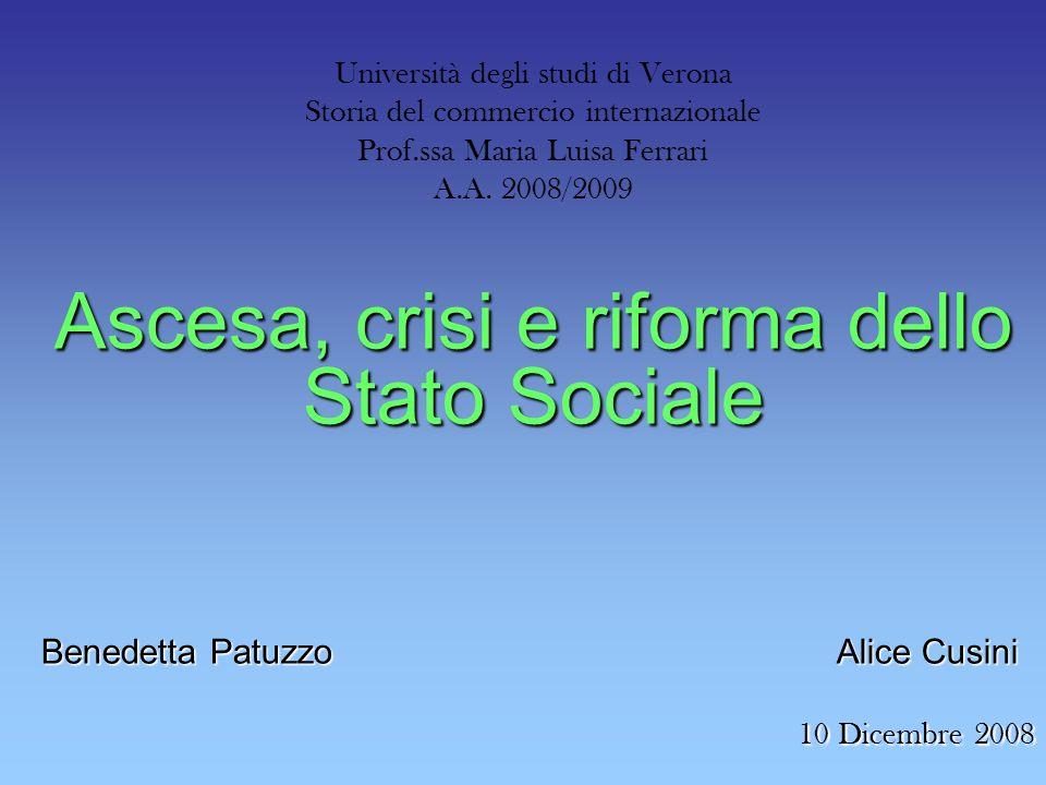 Università degli studi di Verona Storia del commercio internazionale Prof.ssa Maria Luisa Ferrari A.A.