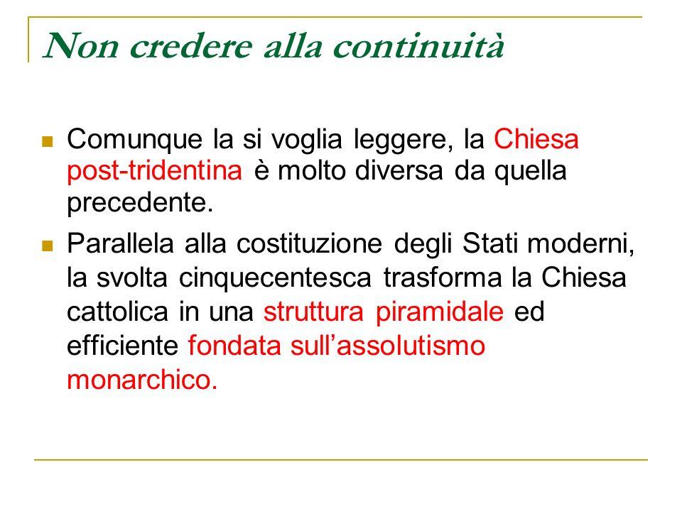 Da Trento a Bologna (1547-1451) Nel 1547, con la scusa di unepidemia di tifo, il Concilio viene spostato da Trento a Bologna, città pontificia, dove prosegue, senza risultati significativi, fino al 1549.
