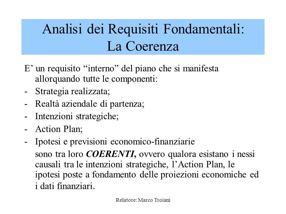 Relatore: Marco Troiani 3.Altro vincolo da considerare è la capacità di indebitamento (e quindi del rapporto di indebitamento corrente) e del potenzia