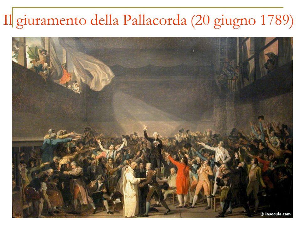 Il giuramento della Pallacorda (20 giugno 1789)