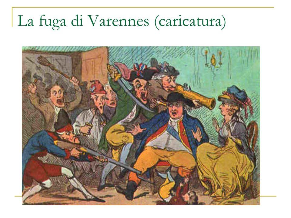 La fuga di Varennes (caricatura)