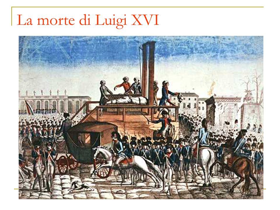 La morte di Luigi XVI