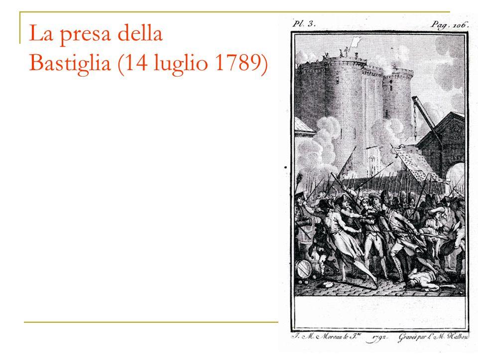 La presa della Bastiglia (14 luglio 1789)