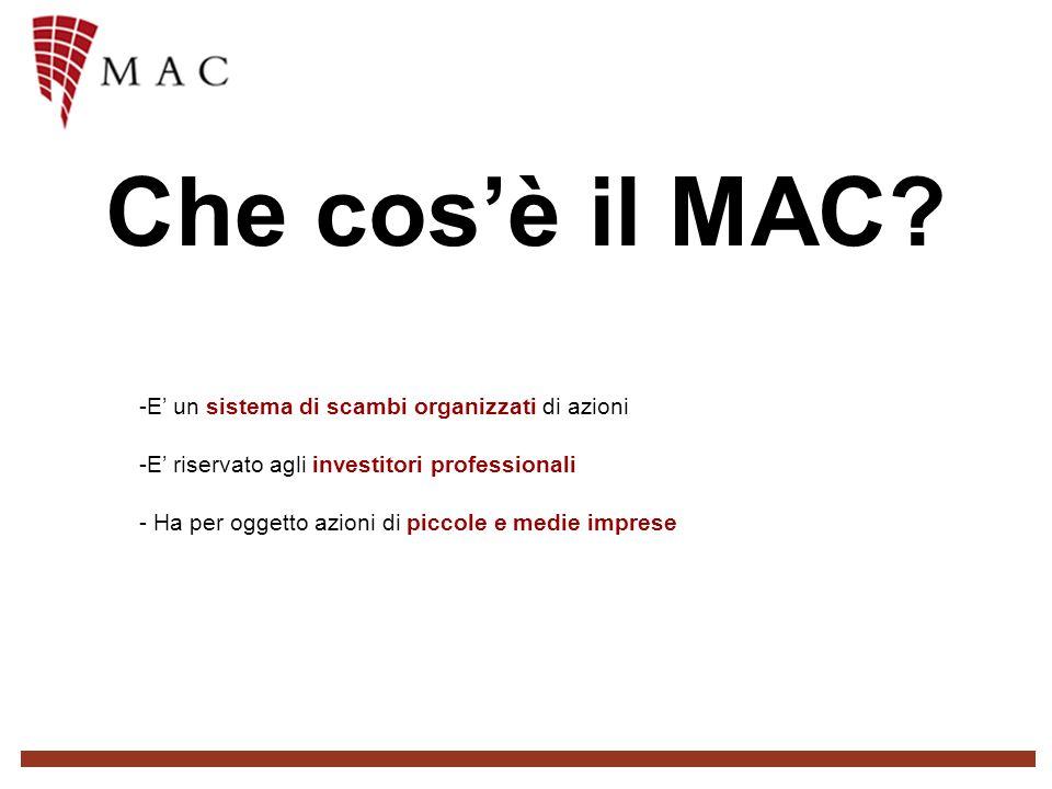 Che cosè il MAC.