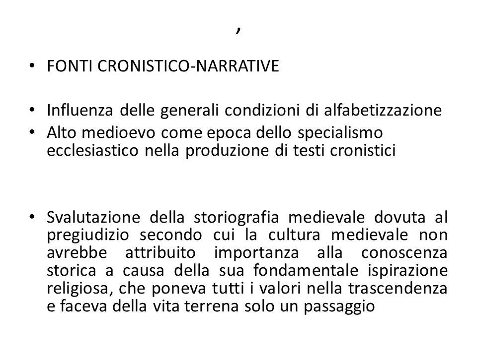 Fonti cronistiche e narrative Formation et culture des notaires (XIe-XIVe siècle), in Éducation et cultures en Italie (XIIe-XVe siècles), a cura di I.