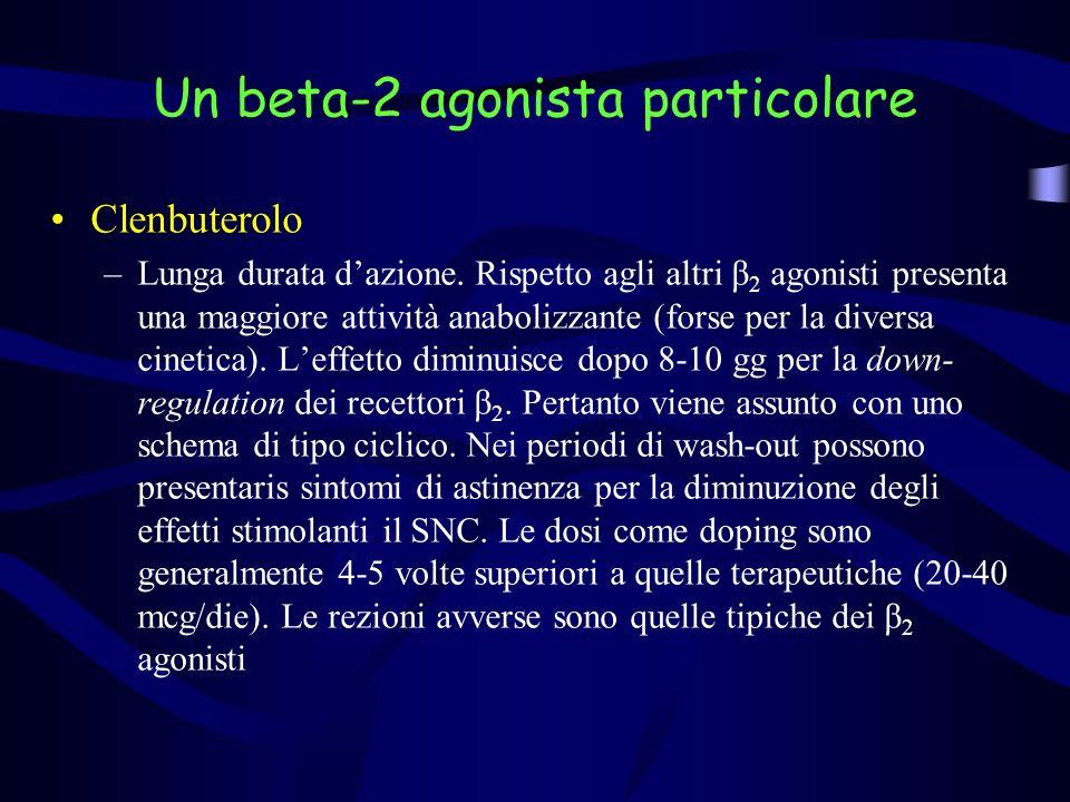 Beta-bloccanti –Anti-tremore, effetto ansiolitico –Arcieri, ginnasti, automibilisti, ecc.