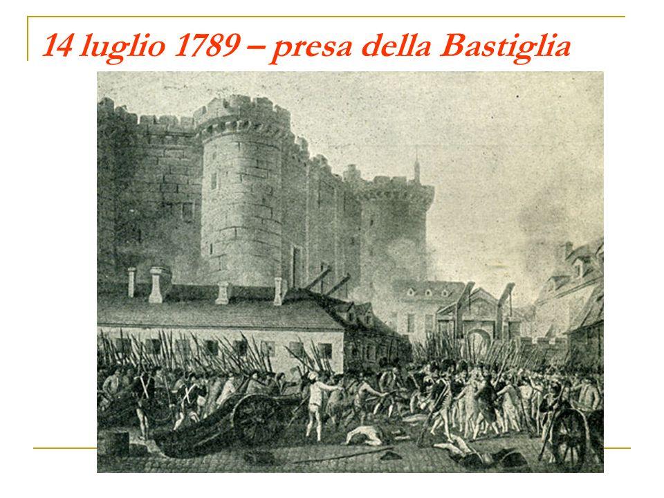 14 luglio 1789 – presa della Bastiglia