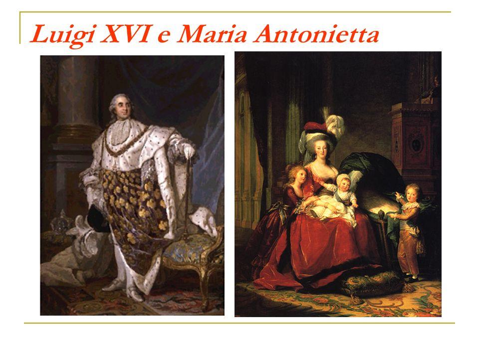 Luigi XVI e Maria Antonietta