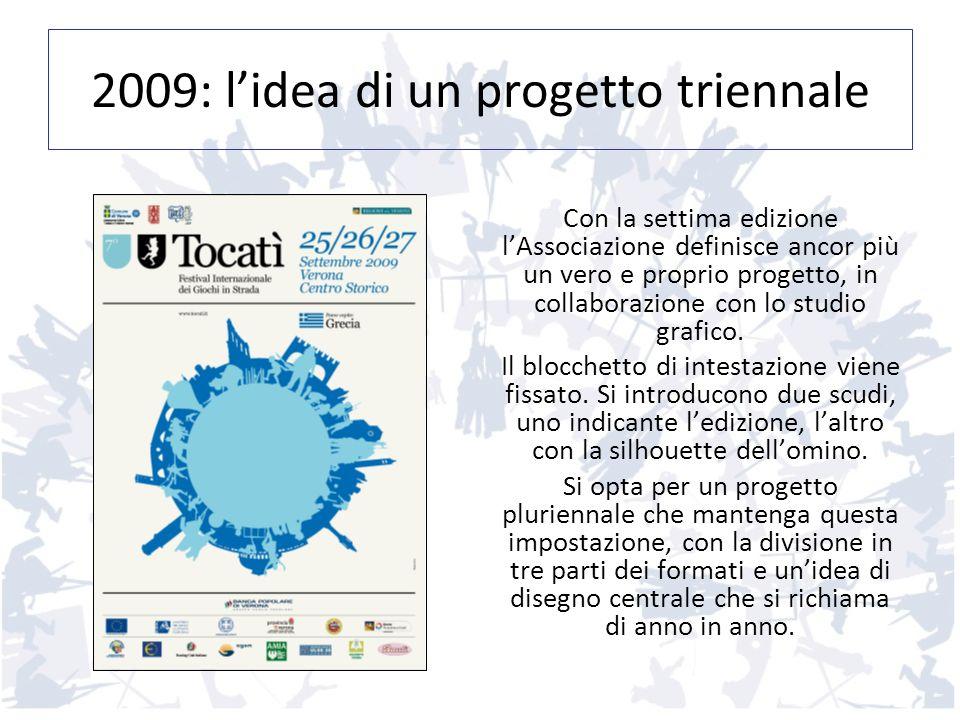 2009: lidea di un progetto triennale Con la settima edizione lAssociazione definisce ancor più un vero e proprio progetto, in collaborazione con lo st