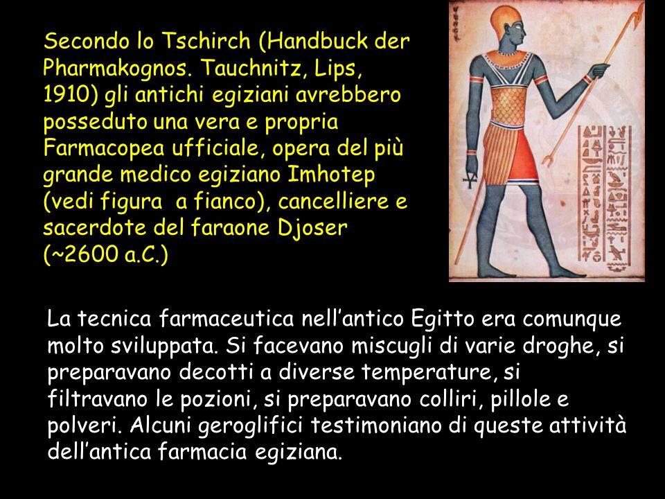Reperti archeologici e pitture murarie nelle tombe egizie documentano, inoltre, luso della scilla, della camomilla, del rosmarino e del cedro come ant