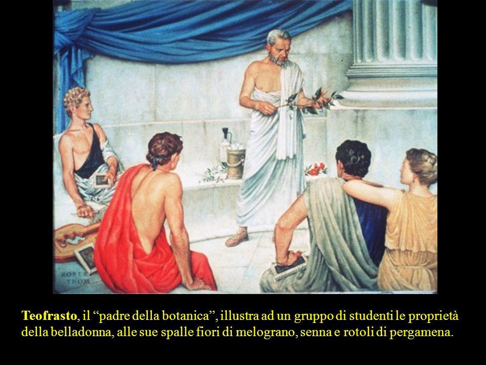 LA TERRA SIGILLATA: la prima specialità medicinale (circa 500 a.C.). A base di argilla contenente silice, alluminio, creta, magnesia e ossido di ferro