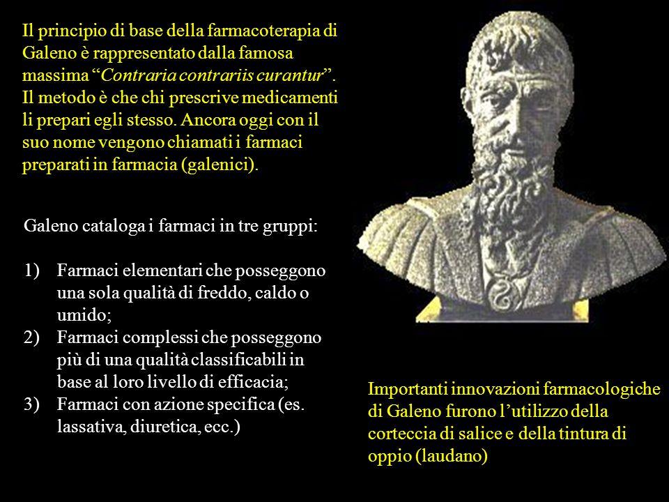 Galeno (129-200 d.C.) è considerato, dopo Ippocrate, il più grande medico dellantichità. Nato a Pergamo in Asia Minore, formatosi alla scuola medica d
