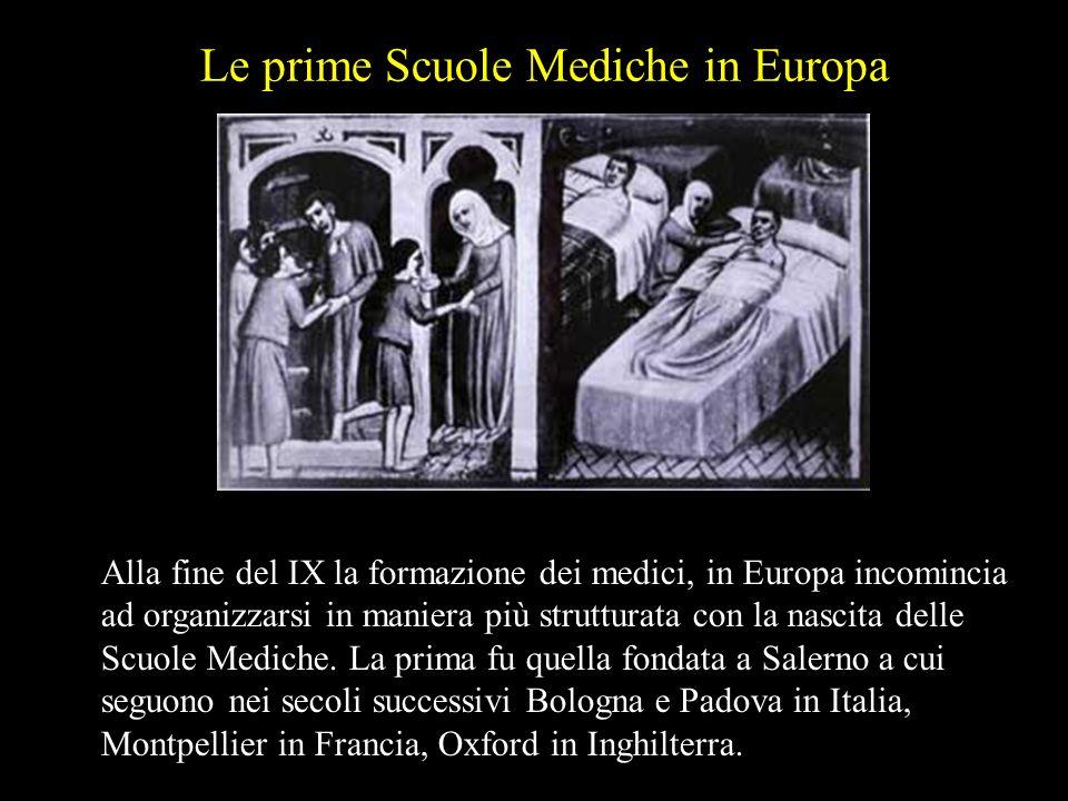 Gli arabi separarono le due professioni del farmacista e del medico. A Bagdad nacque alla fine del VIII secolo la prima farmacia privata.