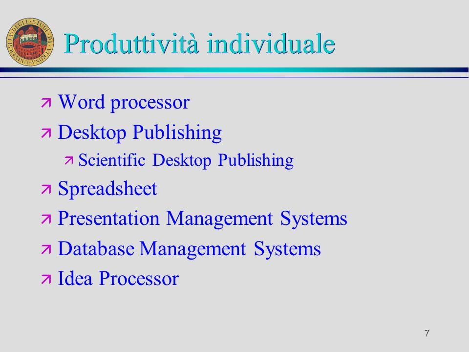 18 Sviluppo ä Fase operativa ä Titolare: lo sviluppatore ä Divisa in ä Implementazione ä Assemblaggio