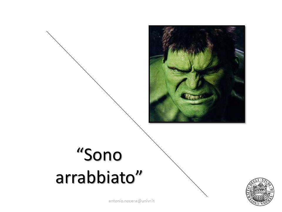 Sono arrabbiato antonio.nocera@univr.it