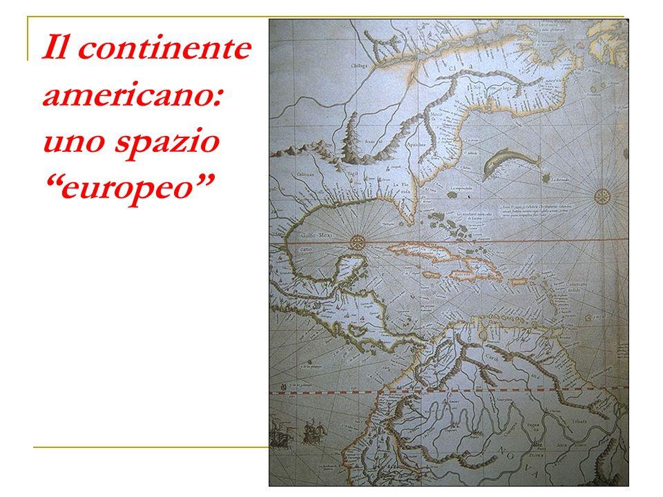 Il continente americano: uno spazio europeo