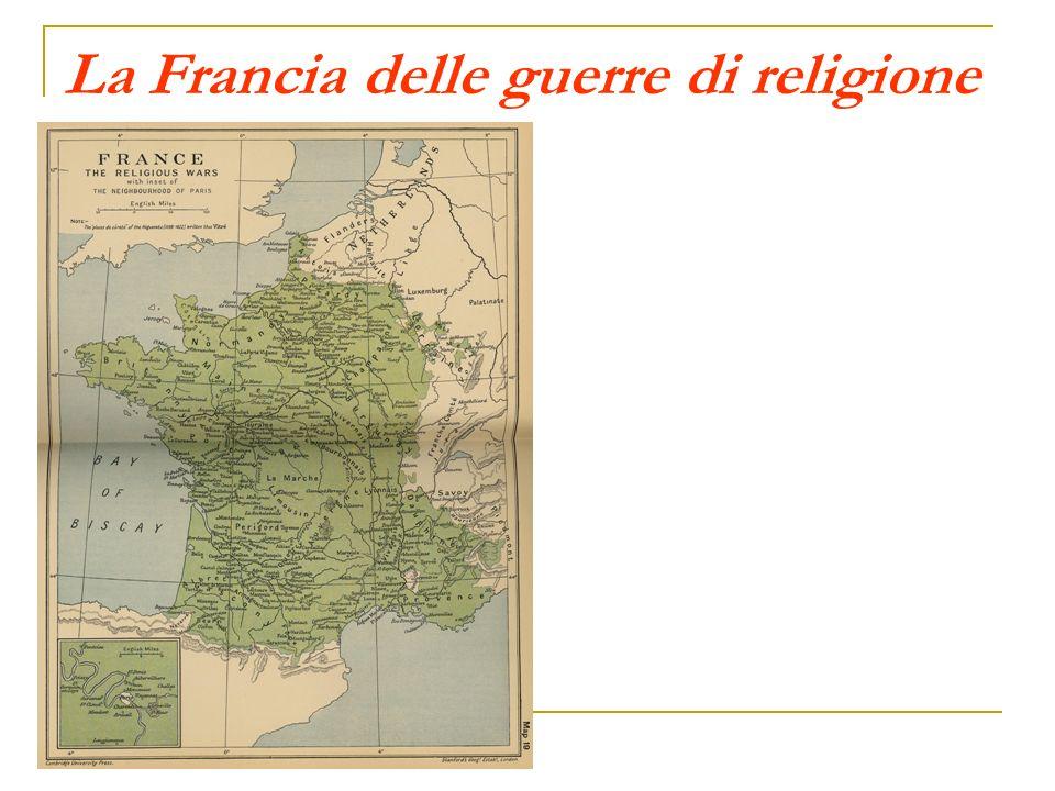 La Francia delle guerre di religione